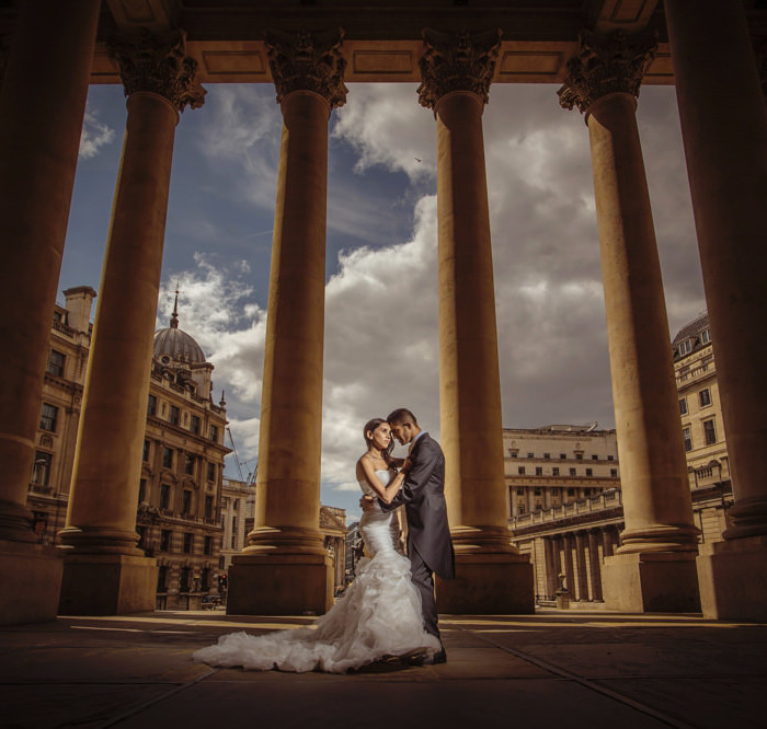 Ushma + Aks - The Royal London Exchange - London Indian Wedding Photographer