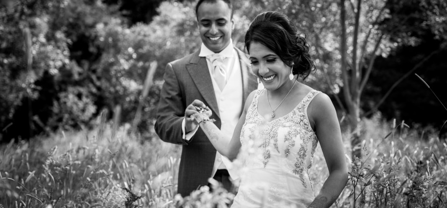 Vaishali + Rakesh Indian Wedding Ladywood Estate
